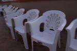 Устойчиви пластмасови столове за хотел