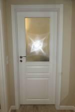 интериорни врати с заоблена каса ненарушими