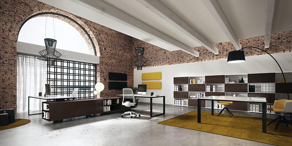 Лукс офис мебели от МДФ и стъкло