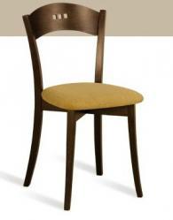 Дизайнерски стол от масив
