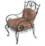Градински стол произведен от ковано желязо Пловдив вносители