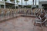 Градински столове от алуминии за заведение