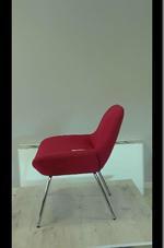евтини червени  офис кресла
